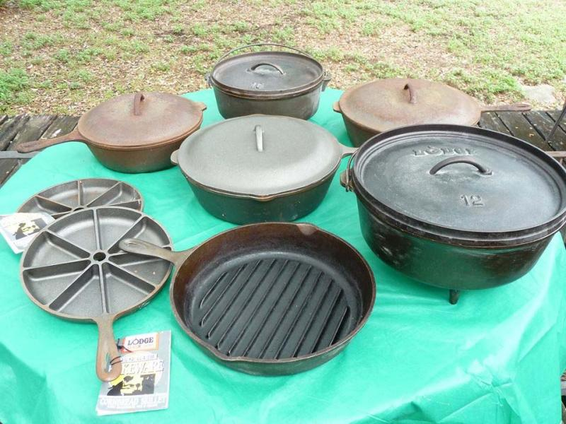 we re selling our cast iron all the items are